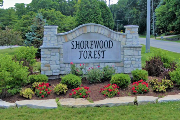 Shorewood Forest Sign